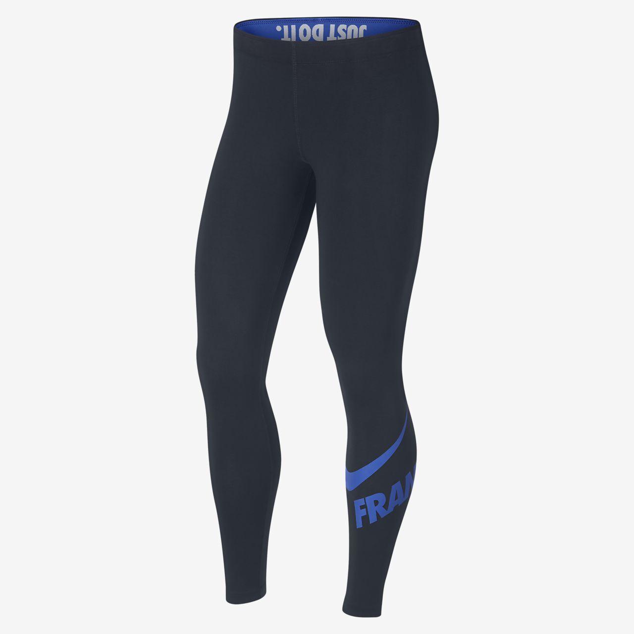 damen NIKE France FFF leg-a-see Leggings Medium 892286-475