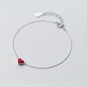 Das Bild wird geladen Damen-Armband-Armreif-echt-925-Sterling-Silber-rot- 2d15cfc01e