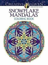 Adult Coloring Creative Haven Snowflake Mandalas Book By Marty Noble 2015 Paperback