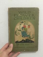 Wild Of The Flower Children The Little Playmates Of The Fairies Gordon 1918