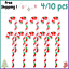 Details about  /Christmas Inflatable Set of 4//10 Holiday Large Candy Cane Outdoor Decoration New