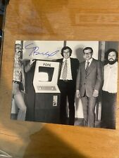 Al Alcorn Authentic Autographed Signed Atari Pong Video Game Creator 8x10 Photo
