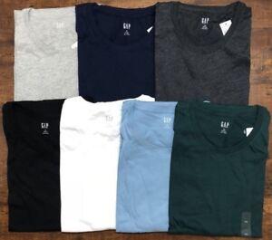 GAP-homme-a-encolure-ras-du-cou-a-manches-courtes-T-shirt-everyday-T-shirt-Taille-S-M-L-XL-2XL