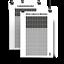 Indexbild 1 - Lebenskalender   Mein Leben in Wochen   Bewusst leben Poster ✔ Leinwand ✔ Alu ✔