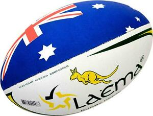 KANGAROO-High-Abrasion-Grip-4PLY-Rugby-Union-OzTag-Touch-Match-Ball-Size-3-4-amp-5