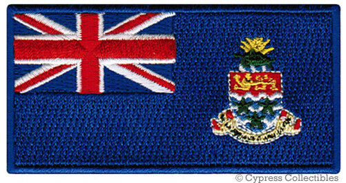 BERMUDA FLAG PATCH EMBROIDERED SOUVENIR SOMERS ISLES w// VELCRO® Brand Fastener