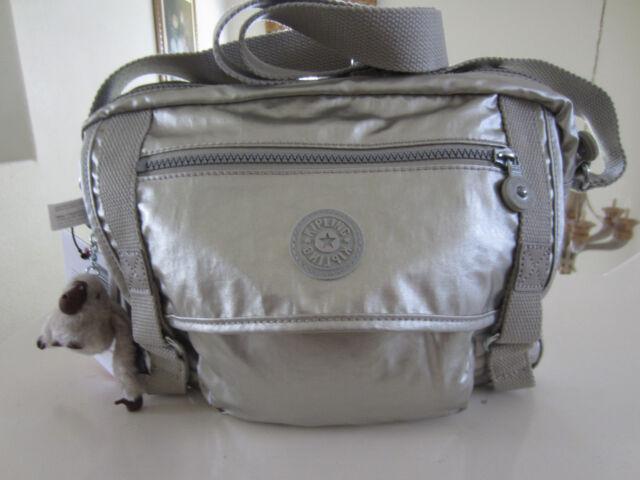 Kipling Hb6254 052 Gracy GM Shoulder Bag Platinum Metallic for sale ... 7197f5f8fd4a2