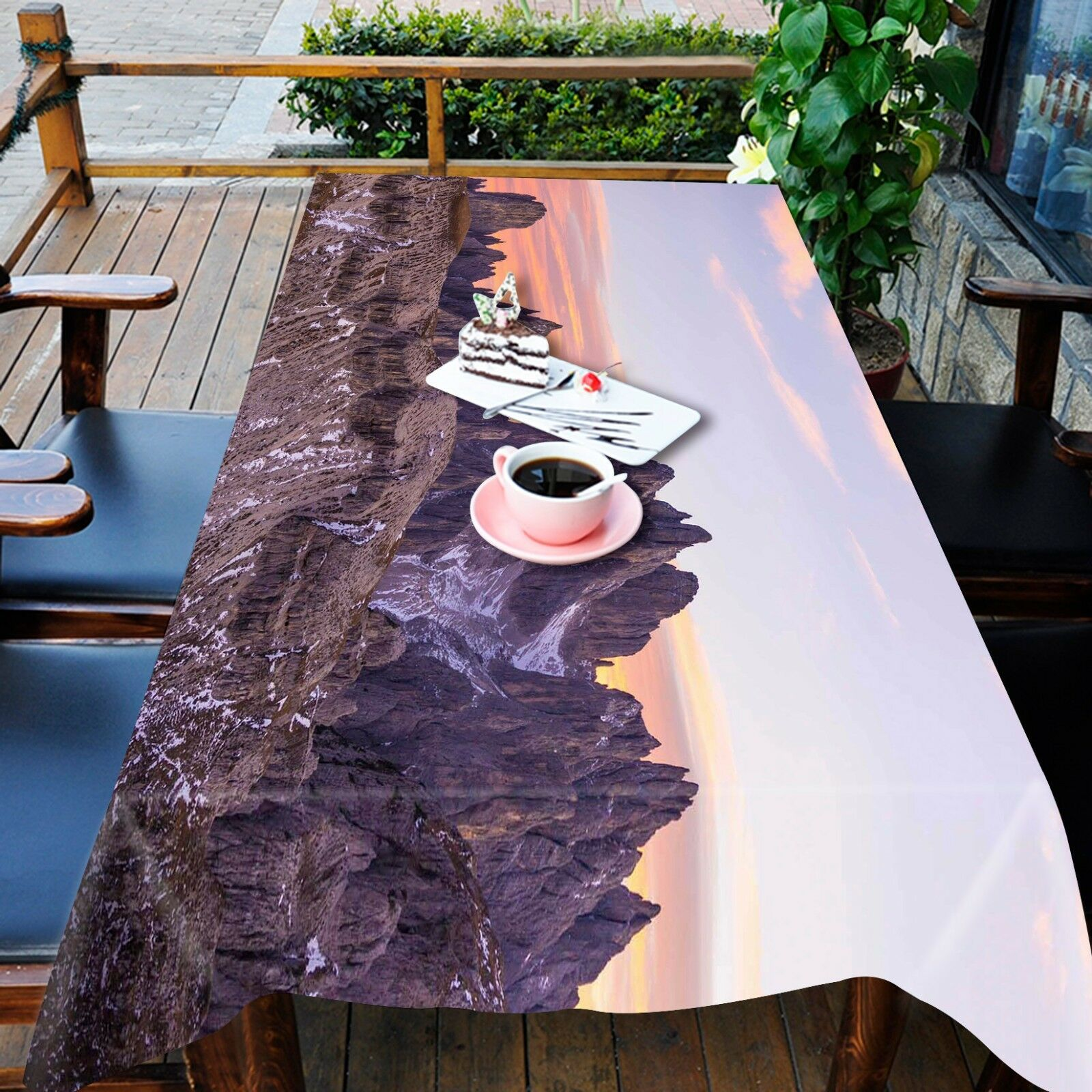 3D Hill 4955 Tablecloth Table Cover Cloth Birthday Party Event AJ WALLPAPER AU