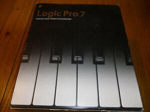 Suivi Des Vols Apple Logic Pro 7 Outils De Création Musicale & Production.-afficher Le Titre D'origine