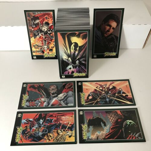 SPAWN TALL-FORMAT (Wildstorm/1995) Complete 152 Trading Card Set TODD McFARLANE