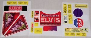 New-Stern-Elvis-Pinball-Machine-Playfield-Decal-Set-802-5000-84-Free-Shipping