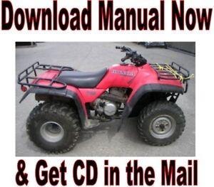 1995 2000 honda trx300fw fourtrax service manual