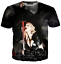 Hot-Star-Sexy-Madonna-3D-Print-Casual-T-Shirt-Mens-Womens-Short-Sleeve-Tee-Tops thumbnail 14