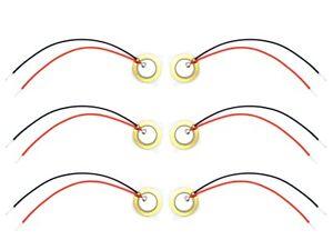 6x-piezo-elemento-12mm-e-drum-trigger-Pickup-risonanza-corpo-piezos-sensore