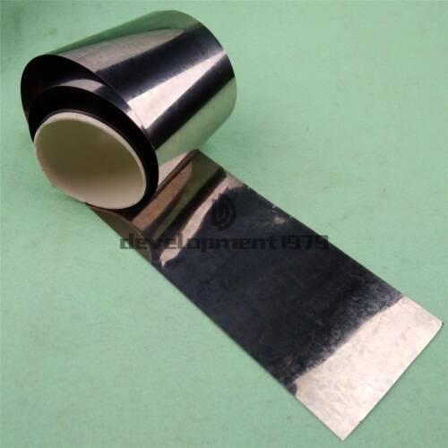 0.05mm x 100mm x 1000mm 99.995/% Pure Iron Foil Fe Thin Sheet