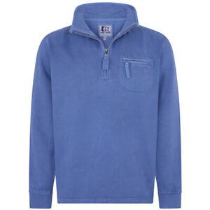 Lazy-Jacks-Men-039-s-LJ81-Pigment-Dyed-Sweatshirt-Washed-Blue