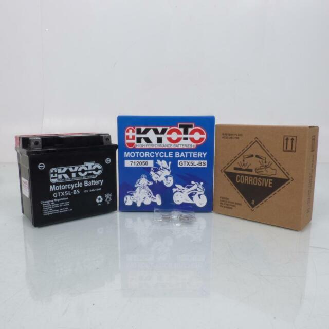 Batería Kyoto Moto Honda 125 Cityfly 1981-1999 YTX5L-BS / 12V 4Ah Nuevo