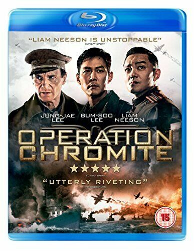 Operation Chromite [Blu-ray] [DVD][Region 2]