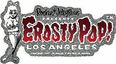 Erosty Pop Girl Sticker Decal Rockin Jelly Bean R7Red
