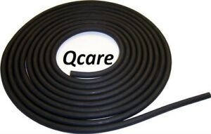 """10 FEET 1//4X1//16/"""" LATEX SURGICAL RUBBER TUBING 3//8 OD Black new"""