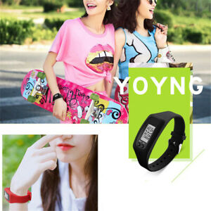 Fitness-Band-Calorie-Step-Counter-Pedometer-Watch-Kid-Activity-Tracker