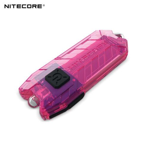 Nitecore Schlauch 45lumens 2 Modi USB Aufladbar LED Schlüsselring Licht