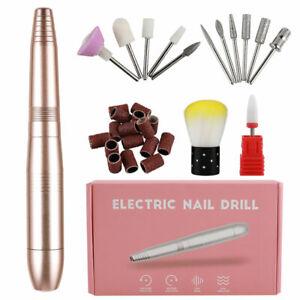 Professional-Electric-Manicure-Pedicure-Kit-Drill-File-Nail-Art-Pen-Machine-Set