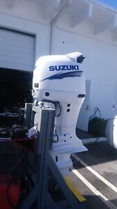 Details about Suzuki DF 140 outboard matched pair complete restoration