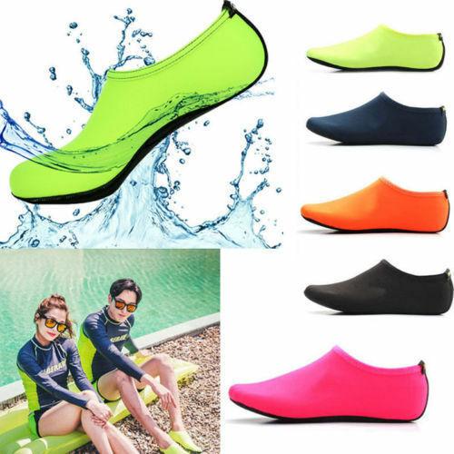 Men Womens Diving Surf Socks Wetsuit Water Aqua Shoes Non Slip Swim Beach Shoes 3