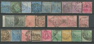 Cape of Good Hope 1864/1904 ☀ Lot of used stamps