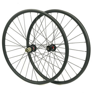 Hand-build-29ER-carbon-mountain-bike-wheel-for-MTB-XC-AM-riding-35mm-outer-width
