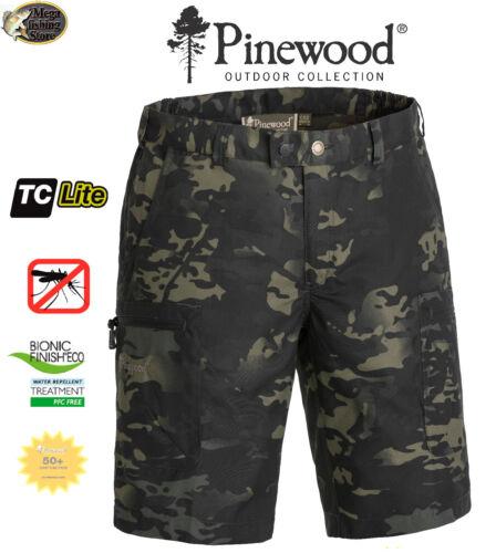 Pinewood 5286 Caribou Camou TC Shorts Outdoor Angelshorts Angel Jungle-Black