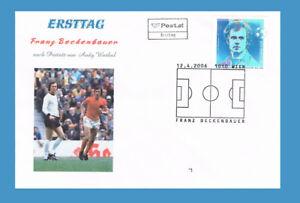 FDC-Franz-Beckenbauer-nach-einem-Portraet-von-Andy-Warhol-ETSSt-1010-Wien-12-4-06