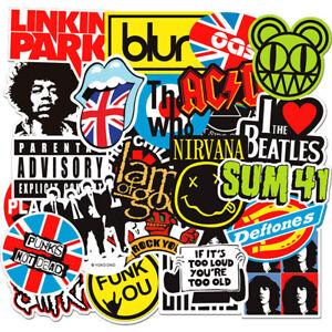 100PCS-Stickers-Lot-Rock-Band-Punk-Music-Heavy-Metal-Bands-Laptop-Car-Bumper