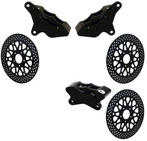wilwood 84 99 harley davidson brake caliper & rotor set