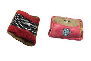 2pz borsa acqua calda elettrica borse tasca scalda mani piedi scaldaletto
