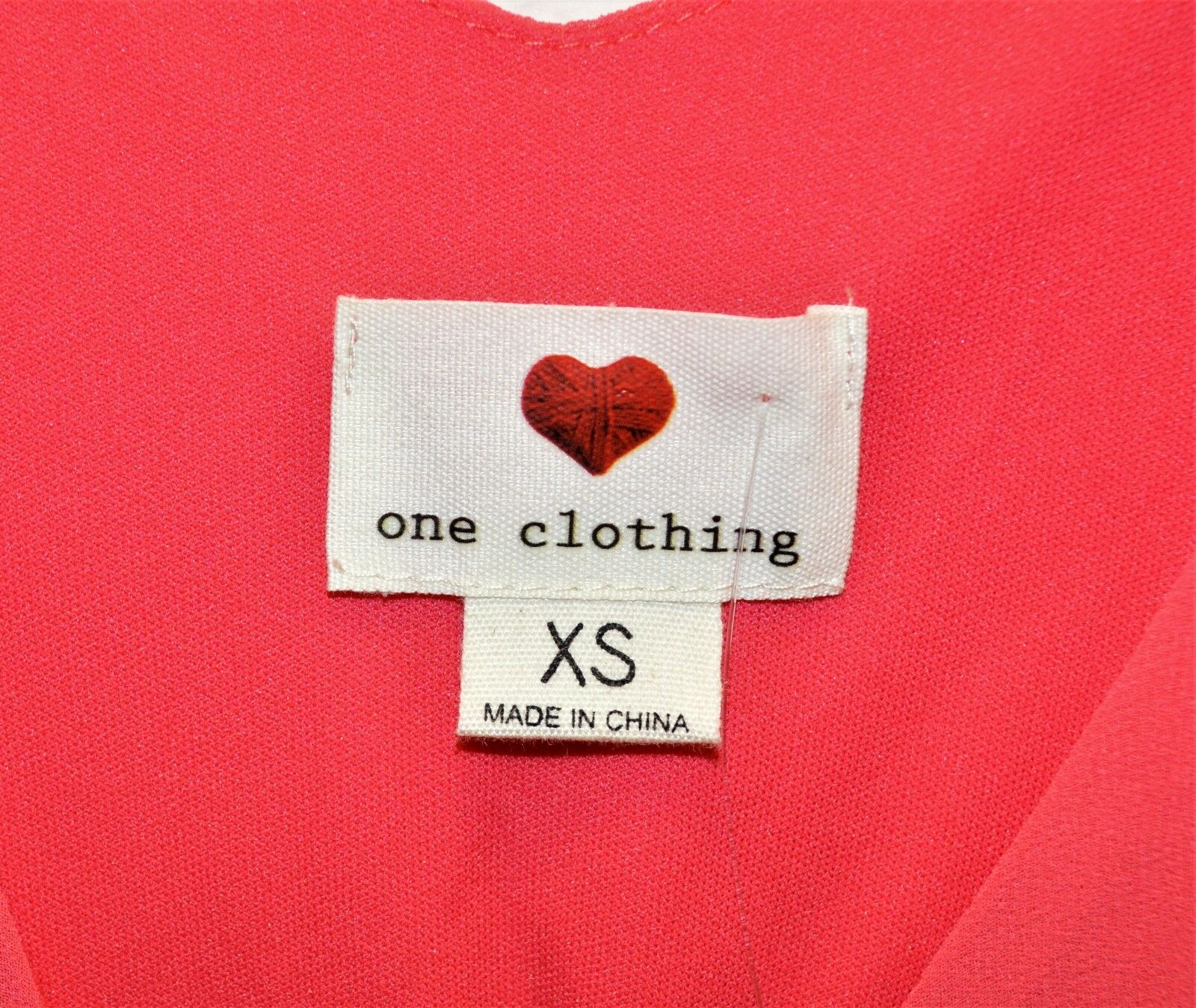 One Clothing Sleeveless Scarf Dress Dress Dress – Size XS NWT 669112