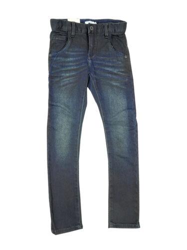 Name it Nitthomson Kids Denim Jungen Jeans x slim Kinder Jungs Hose Dunkel Blau
