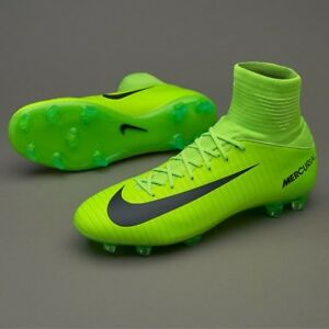 size 40 8b7d0 b0860 ... JUNIOR-Nike-Mercurial-Superfly-Verde-Nero-FOOTBALL-Calzino-