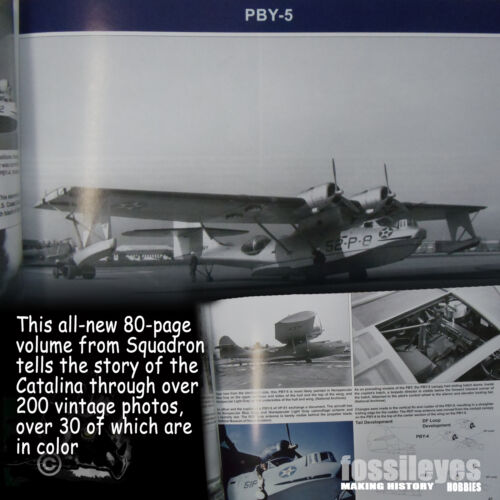 SIGNAL 10232 PBY CATALINA IN ACTION *SC REFERENCE BOOK