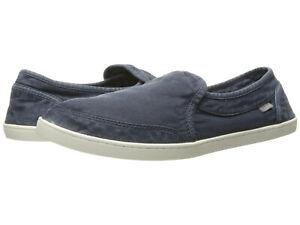6e226e6c4cb17 Women Sanuk Pair O Dice Slip On Canvas Shoes 1013816 Navy 100 ...