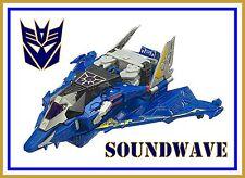 Transformers Cybertron _ Voyager Class _ Soundwave