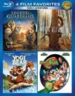 4 Film Favorites Family Adventures Blu-ray