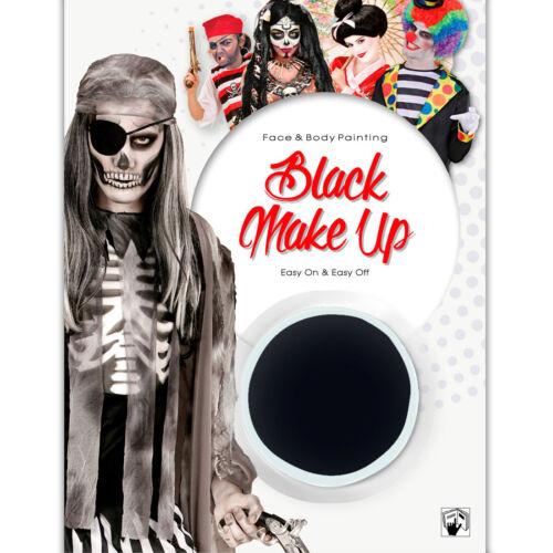 Make Up Wasserfest schwarz Makeup Faschingsschminke Schminke Halloween