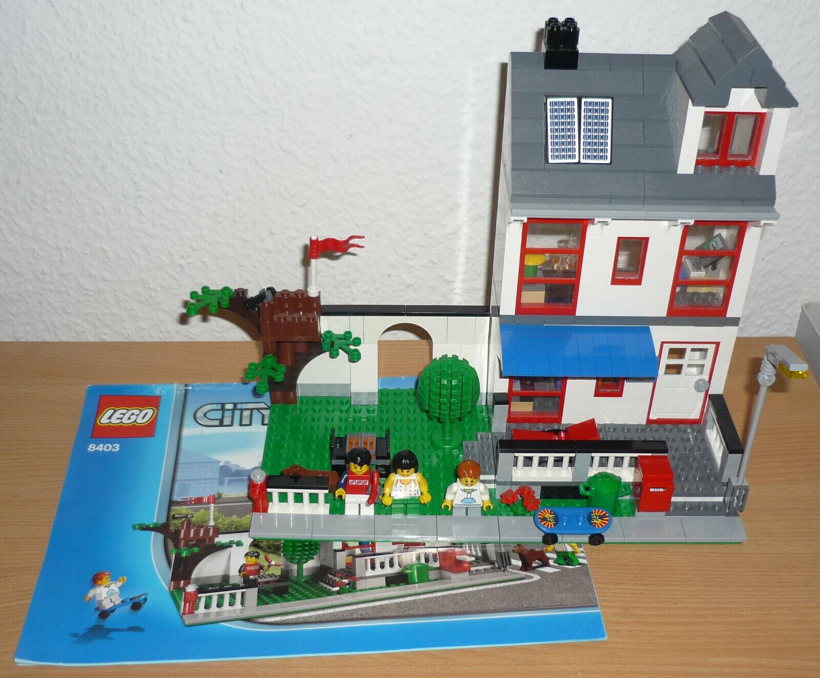 acquistare ora LEGO città 8403 città casa casa casa V. 2010 + OBA  design semplice e generoso