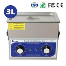 Zokop Stainless Steel Ultrasonic Cleaner 3l Liter Timer Temperature Setting