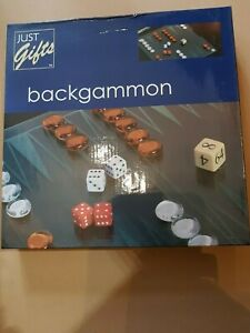 Image is loading Backgammon-Game-Glass-Movers-amp-Board-Just-Gifts
