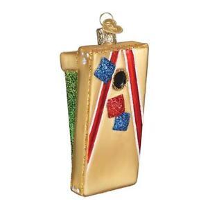 Old-World-Christmas-CORN-HOLE-GAME-44117-N-Glass-Ornament-w-OWC-Box