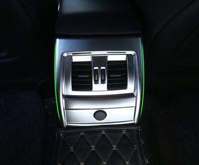 Konsole Klimaanlage Entlüftungsdeckel Rahmen Trim Für BMW X5 X6 F15 F16 2015-17