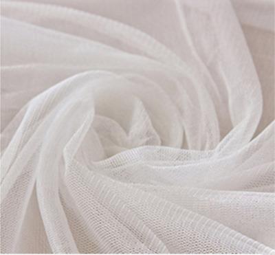 Voile Uni Rideau Filet Craft Mariage Polyester Tissu Matériau 150 cm large
